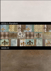 6026 (L, H) Hexa Ceramic Tiles Matt Series