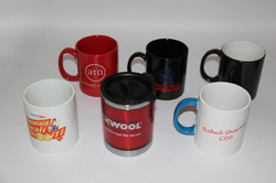 Green and Etc Name Writting & Plain Mug Printing Services