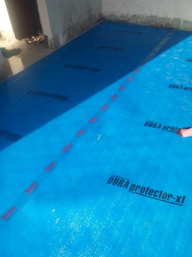 Blue Dura Floor Protection Sheet Rs 4 50 Square Feet K