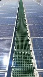 FRP Floating Solar Walkways
