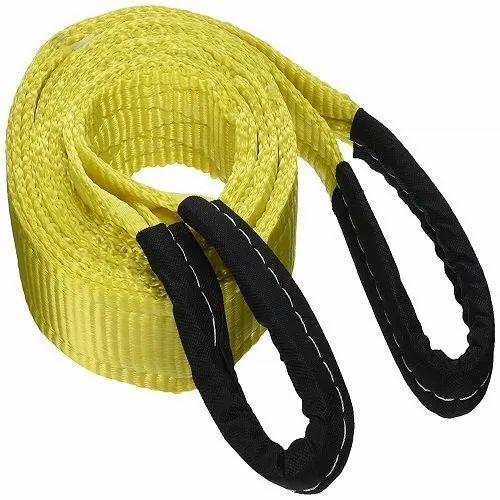 Élingues plates en nylon, pour le levage, taille / capacité: 1 - 50 tonnes, Rs 900 / paire |  ID: 21734484697