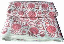 Hand Block Cotton Jaipur Printed Fabric