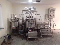 Automatic Ointment Cream Plant