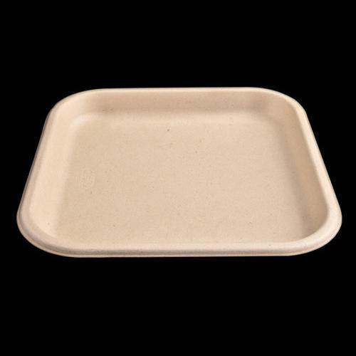 chuk light brown 11 inch disposable plate rs 4 3 piece id