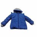 Kids Blue Hooded Jacket