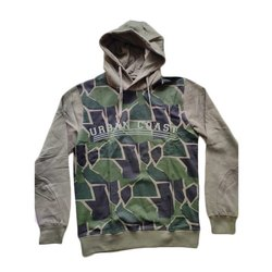 Hood Neck Full Sleeves Cotton Pullover Sweater