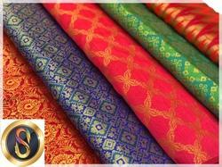 Brocade Banarasi Silk Fabric