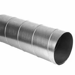 V R HVAC Round Aluminium Duct, Capacity: Open