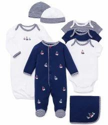 Hosiery Kids Full Sleeves Printed Baby Suit