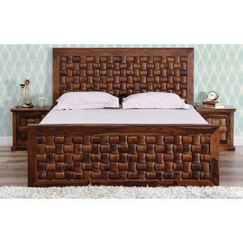. Wooden Designer Bed