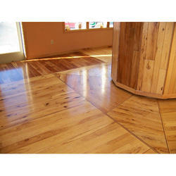 Brown And Teak Wooden Flooring