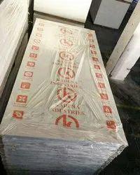 White Plain Kadena 9 Mm PVC Foam Board, For Commercial, Size: 8'x4'
