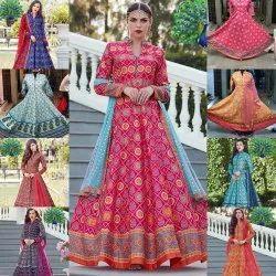 Heavy Cotten Silk Dress