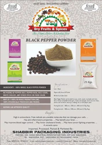 Tajpack Black Pepper