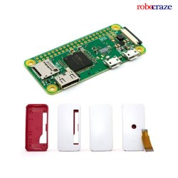 Raspberry Pi Zero W Development Board Built-in WiFi and Bluetooth with Case and Camera Cable