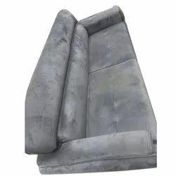 Wooden(Frame) Gray Designer Wooden Velvet Sofa, For Home