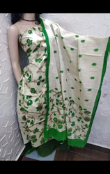 Bhagalpuri Stitched Ladies Printed Cotton Suits