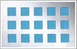 GI Perforated Sheet SQUARE HOLE