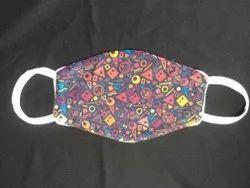 Design printed reusable mask