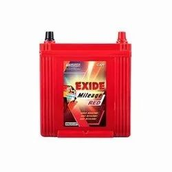 Exide Mileage Red MRED40LBH Car Battery, Battery Type: Acid Lead Battery