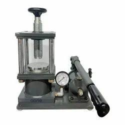 KBR/FTIR Hydraulic Press