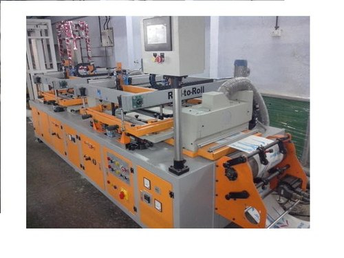 Roll To Roll 2 Colour with IR Screen Printing Machine
