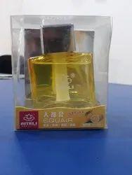 Yellow Car Perfume Bottle