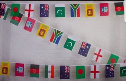 Cricket World Cup Flags