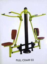 Outdoor Fitness Pull Chair Double