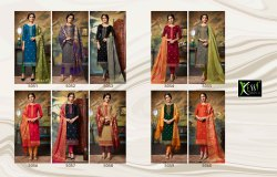 Designer Silk Cotton Salwar Suit