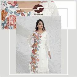 Cotton Regular Ladies Readymade Kurti, Size: 38-44, Wash Care: Handwash