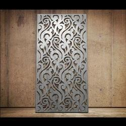 Acrylic 3D Jali Cutting