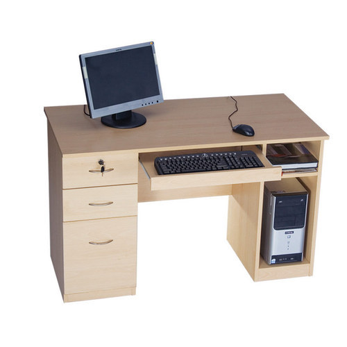 Wooden Computer Office Table Size 48 X 24 X 30 Inch Rs