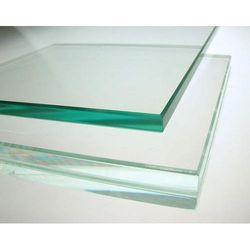 Transparent Toughned Glass, Size: 101-500 Square Feet, Shape: Flat
