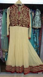 Ladies Heavy Anarkali Stone Suits