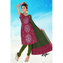 Designer Print Bandhani Suit