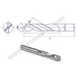 Parallel Shank Drill (Solid carbide )