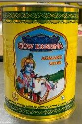 Cow Krishna Agmark Ghee 1 Ltr Jar