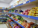 Metal Superstore Display Rack For Supermarket