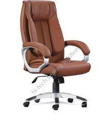 Brown Leather Boss Chairs