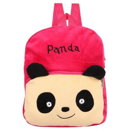 c8d8e3f1a Panda Velvet Kids School Bag, Carry Bags And Multiutility Bags ...
