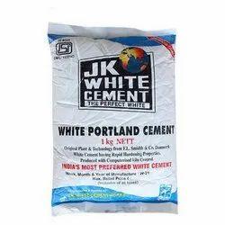 1 Kg JK White Portland Cement, Packaging Type: PP Sack Bag, Cement Grade: Grade 53