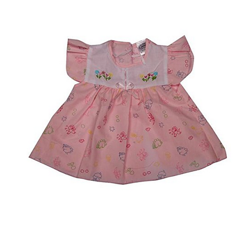 9f7ef628c89e Cotton Pikaboo Baby Girls Frock Combo