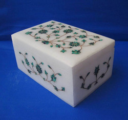 Makrana Marble Inlay Boxes