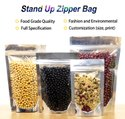 Stand Up Zipper Pouch