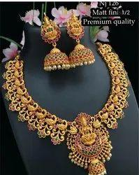 Temple Jewellery Necklace Set