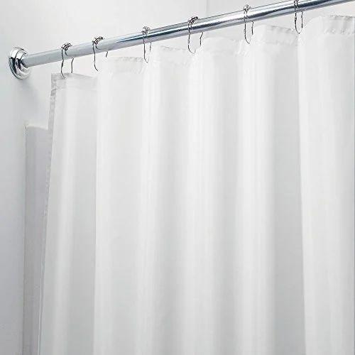 Plain Shower Curtain Rs 400 Piece Shree Vinayaka Agencies
