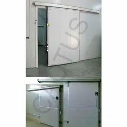 PUF Cold Storage Sliding Door
