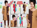 Full Sleeves Rayon Plain Formal Kurti