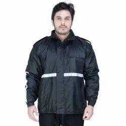 Black Men Security Guard Jacket